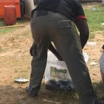 UNBELIEVABLE!!! Police Officer Washes Uniform With Ballot Box In Bayelsa