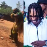 MAD OO!!  See Video Of Masquerade Dancing To Naira Marley's Song For N200