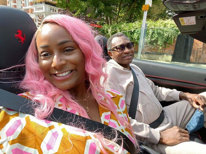 DJ Cuppy And Mike Otedola