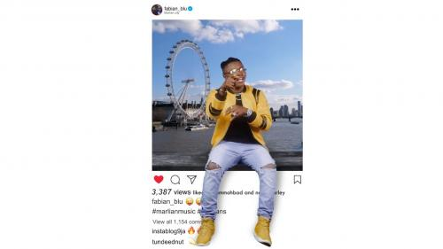 Fabian Blu Ft. Naira Marley, Mohbad – Instagram Mp4
